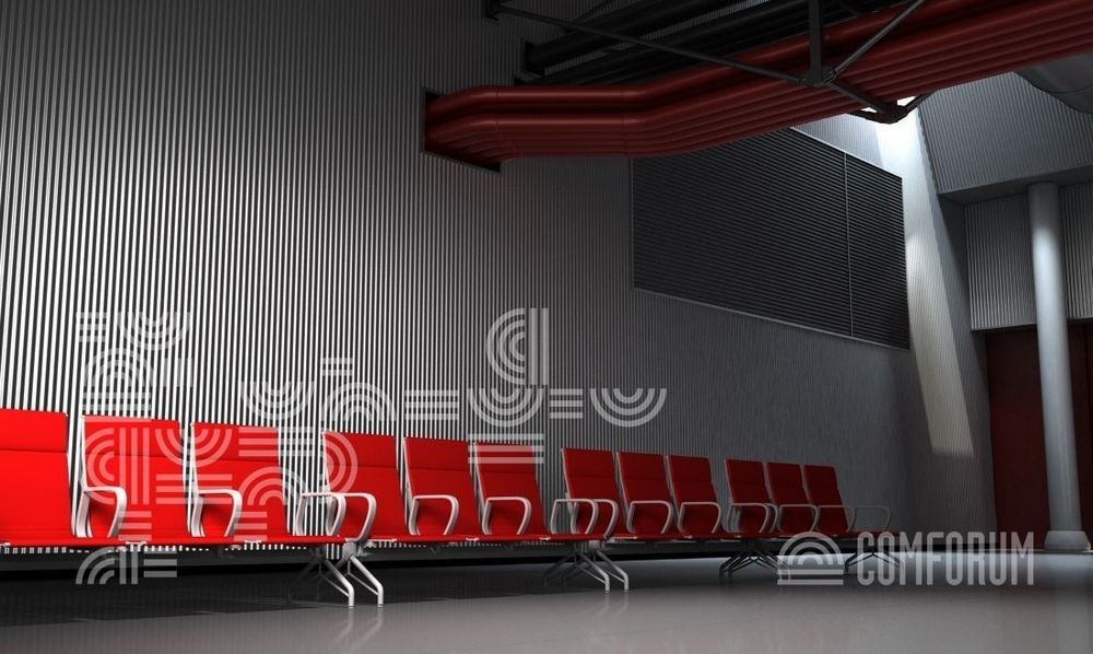 Секционные стулья для аэропортов