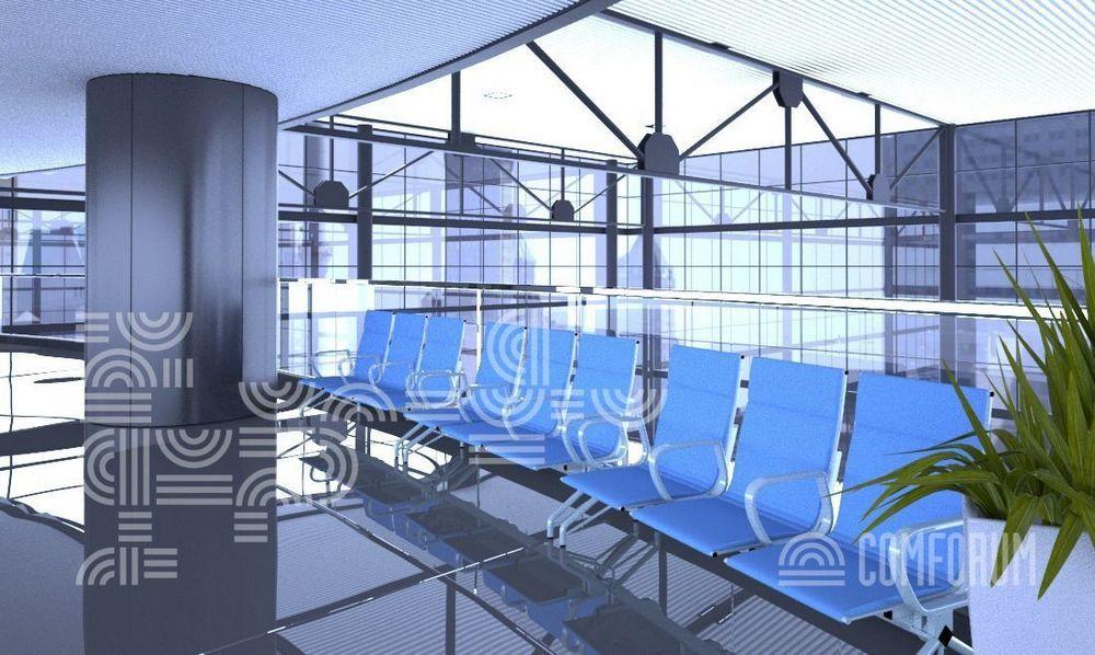 Секционные сидения для аэропортов
